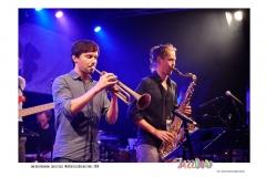 Jan_Gospodinow-Lasse_GolzNuHusselOrchestra-JazzDorf_Wollerstorf_2018