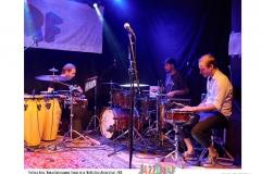 Patrick_Huss-Wanja_Hasselmann-Tobias_Held-NuHusselOrchestra-JazzDorf_Wollerstorf_2018
